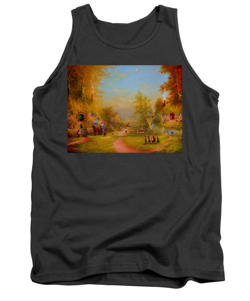 Visit From An Old Friend Tank Top