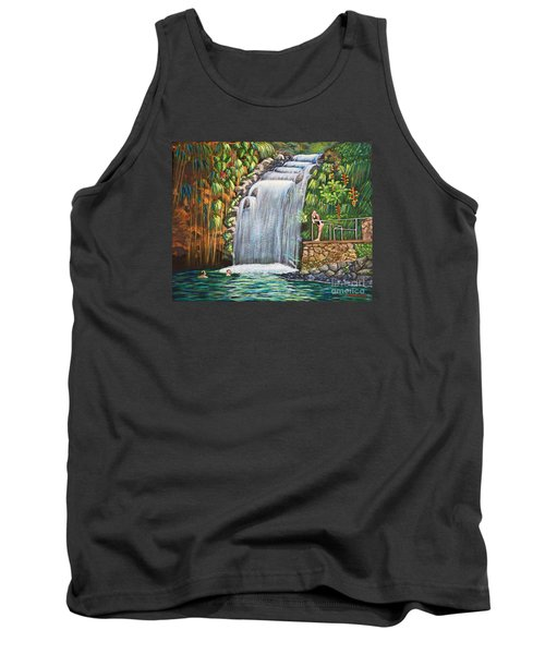Visitors To The Falls Tank Top