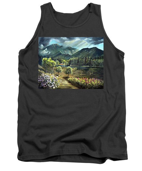 Vista View Of Cannon Mountain Tank Top
