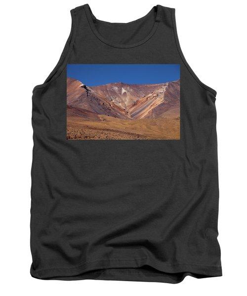 Volcano Crater In Siloli Desert Tank Top