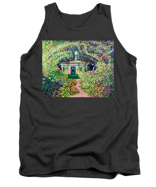 Vue Du Jardin De Monet Tank Top
