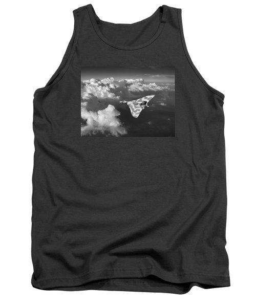 Vulcan Catching The Light Black And White Tank Top