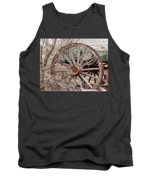 Wagon Wheel Tank Top