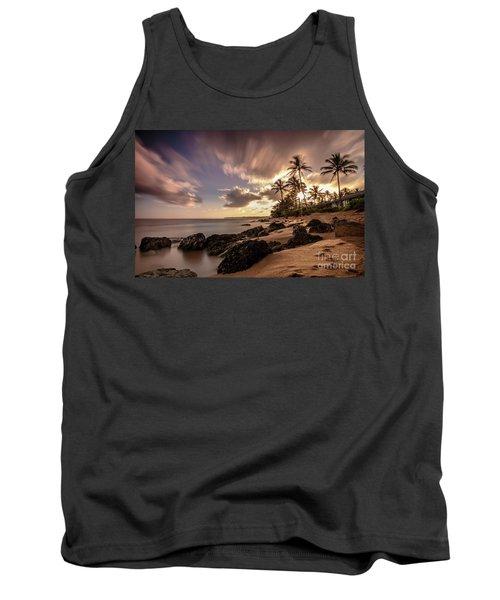 Wainiha Kauai Hawaii Sunrise  Tank Top
