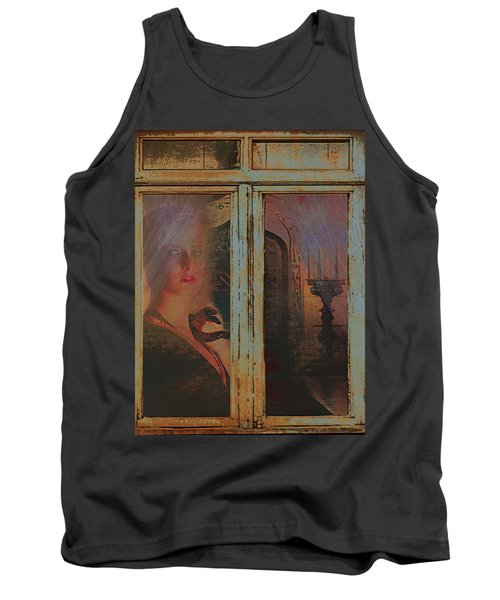 Tank Top featuring the photograph Waiting And Watching by Jeff Burgess