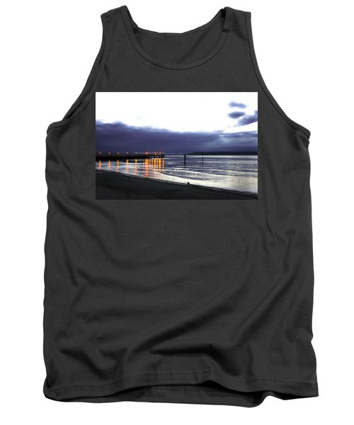 Waiting For The Kingston Ferry Tank Top