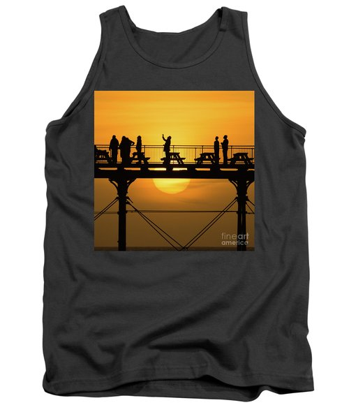 Waiting For The Sun Tank Top
