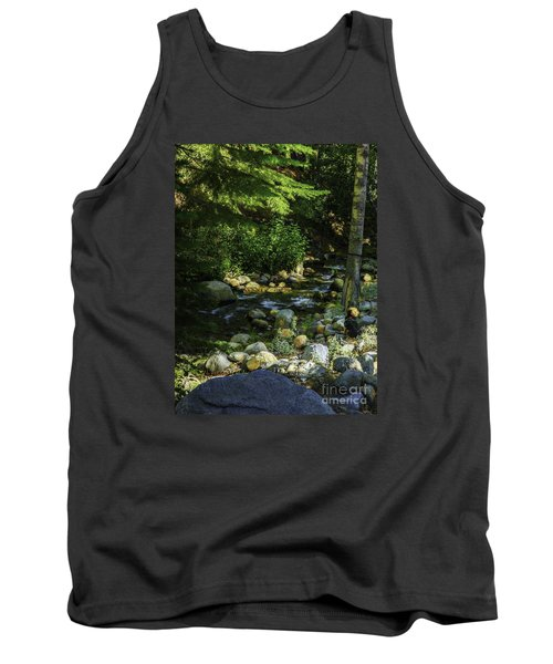 Waiting Tank Top by Nancy Marie Ricketts