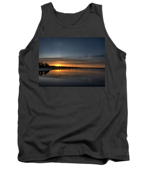 Waking To A Cold Sunrise Tank Top