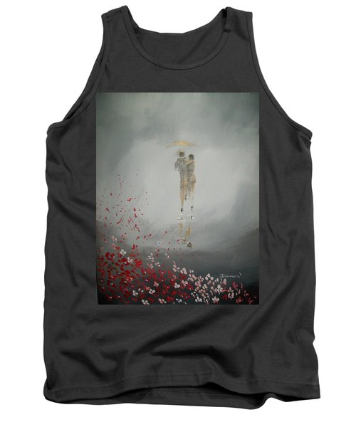 Walk In The Storm Tank Top by Raymond Doward