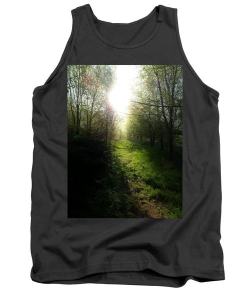 Walk In The Woods Tank Top by Michele Carter