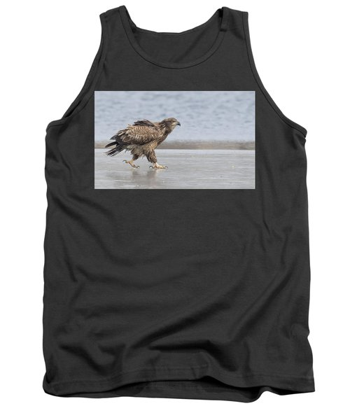 Walk Like An Eagle Tank Top by Kelly Marquardt