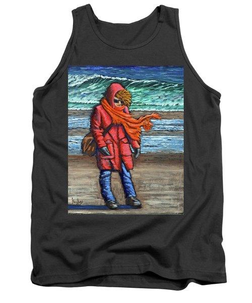 Walk On Beach Tank Top