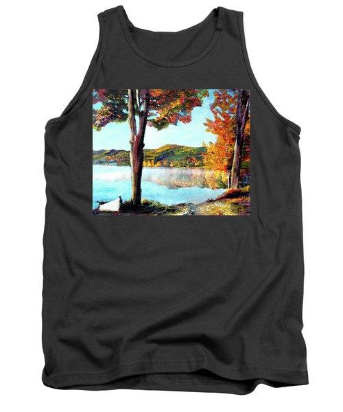 A Walk Down Lake Champlain Tank Top
