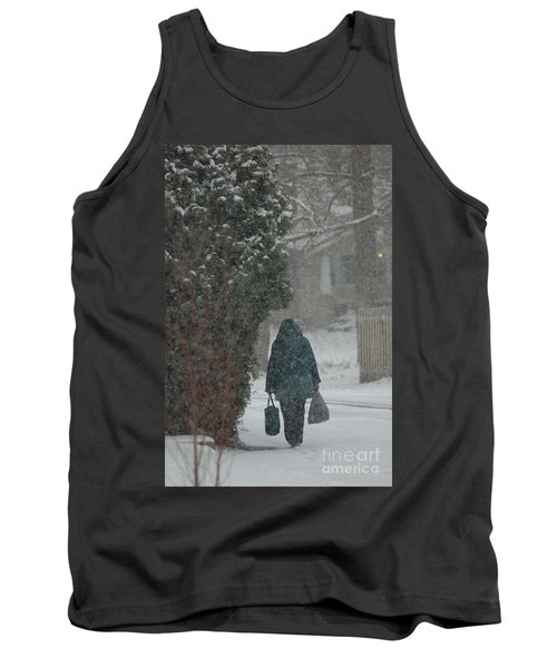 Walking Home In The Snow Tank Top