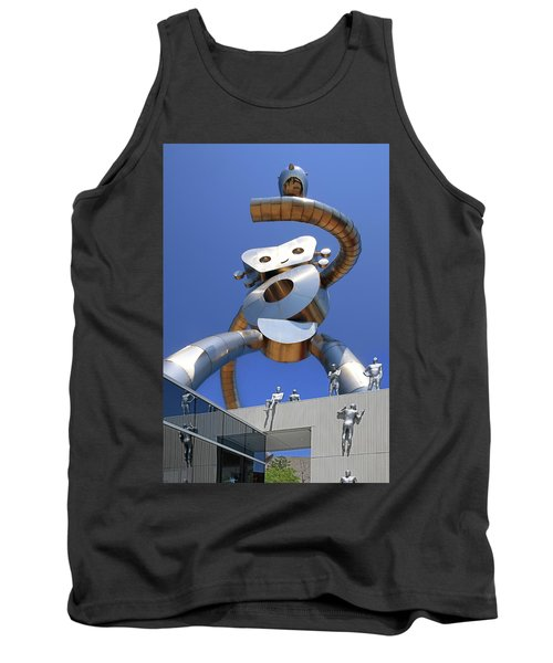 Tank Top featuring the photograph Walking Tall Path by Christopher McKenzie