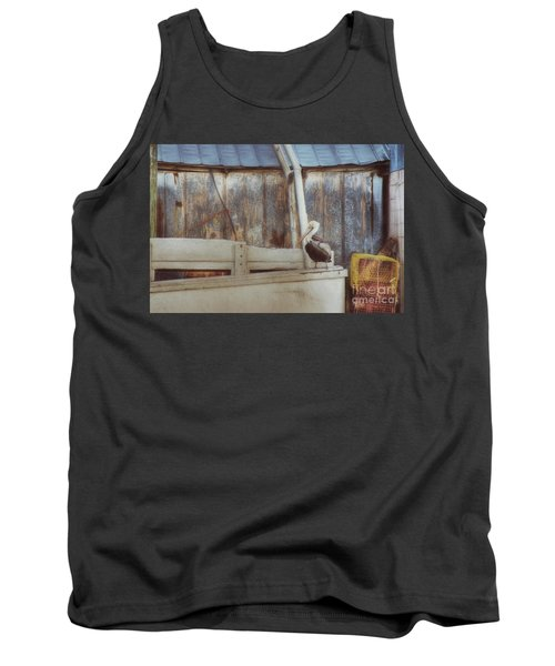 Tank Top featuring the photograph Walking The Plank by Benanne Stiens