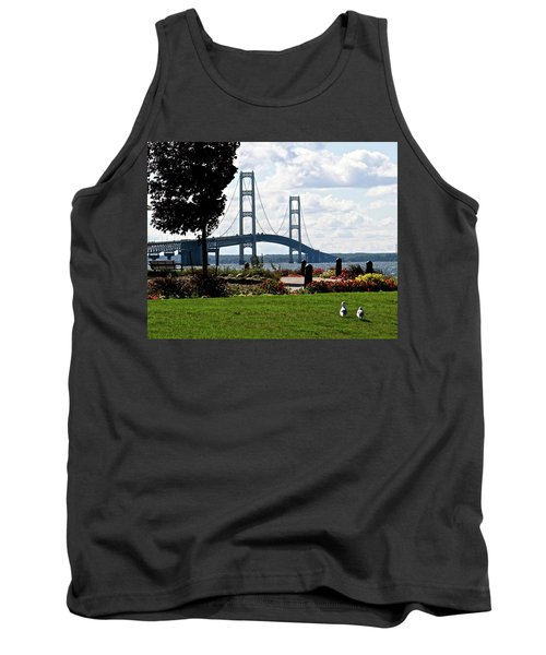 Walking To The Bridge Tank Top