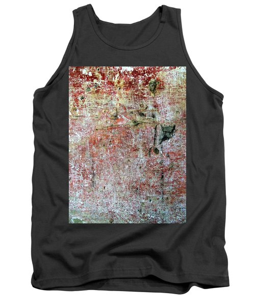 Tank Top featuring the photograph Wall Abstract 169 by Maria Huntley
