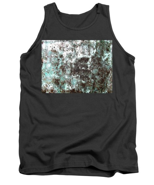 Tank Top featuring the photograph Wall Abstract 173 by Maria Huntley