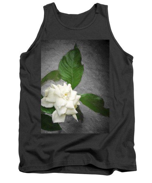 Wall Flower Tank Top by Carolyn Marshall