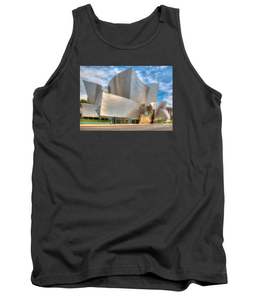 Tank Top featuring the photograph Walt Disney Concert Hall - Los Angeles by Jim Carrell