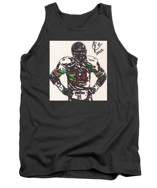 Walter Payton Tank Top by Jeremiah Colley