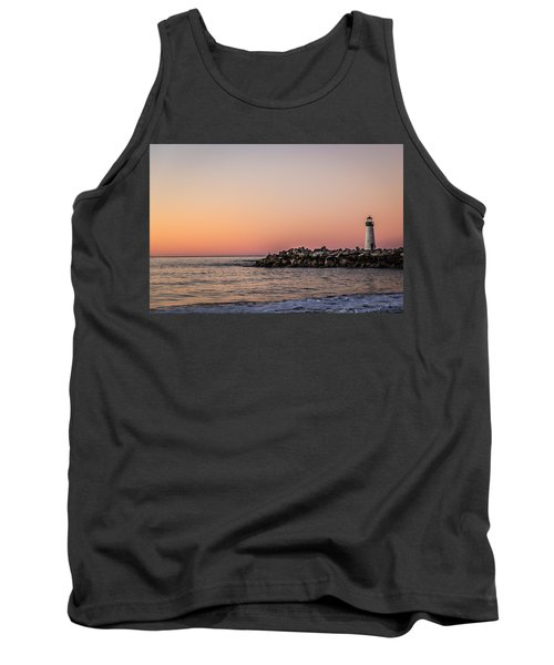 Tank Top featuring the photograph Walton At Sunset by Lora Lee Chapman