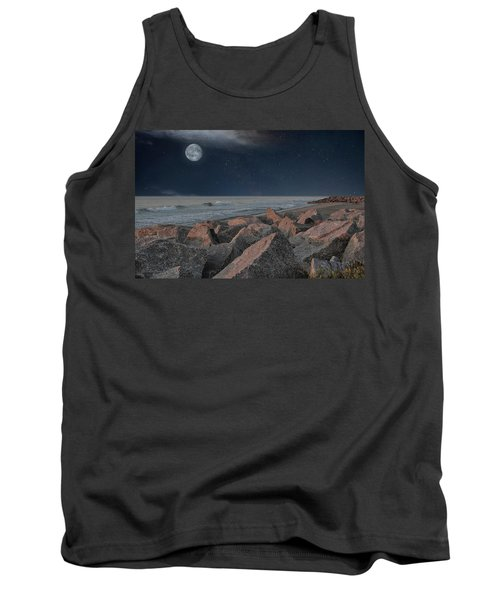 Warm Moonrise At For Fisher Tank Top