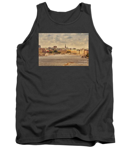 Warm Stockholm View Tank Top by RicardMN Photography