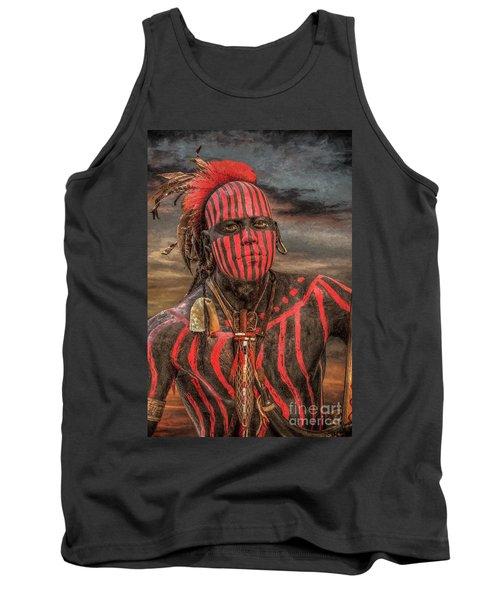 Warpath Shawnee Indian Tank Top by Randy Steele