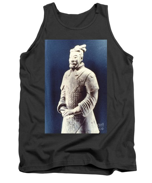 Tank Top featuring the photograph Warrior Of The Terracotta Army by Heiko Koehrer-Wagner