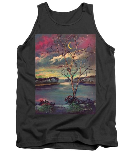 Was Like Stained Glass Tank Top by Randy Burns