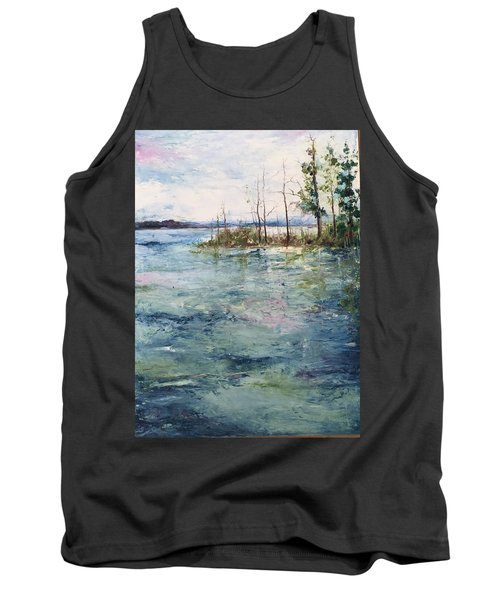 Washed By The Waters Series Tank Top by Robin Miller-Bookhout