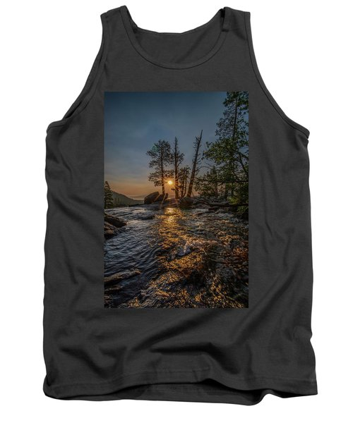 Washed With Golden Rays Tank Top