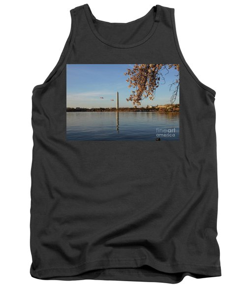 Washington Monument Tank Top by Megan Cohen