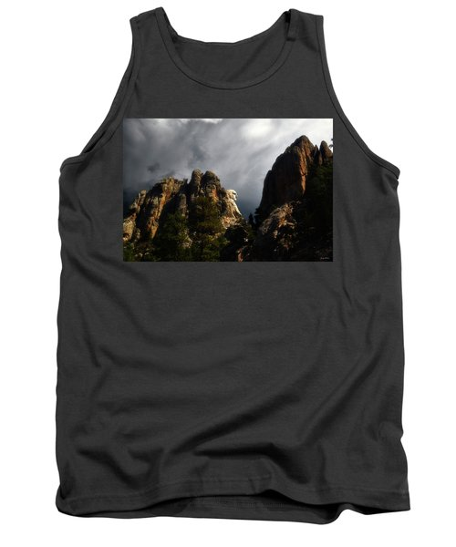 Tank Top featuring the photograph Washington Profile 001 by George Bostian