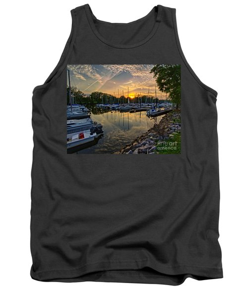 Washington Sailing Marina Tank Top