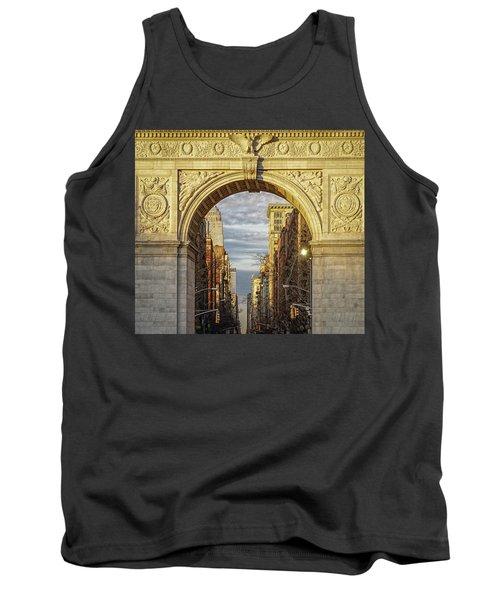 Washington Square Golden Arch Tank Top by Jeffrey Friedkin