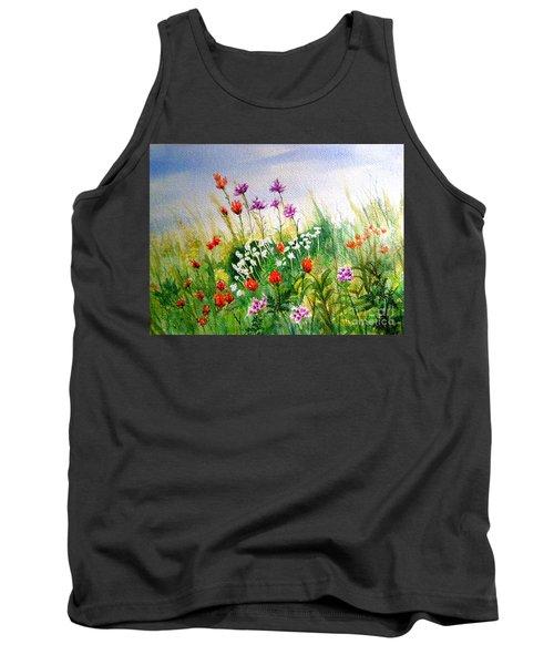 Washington Wildflowers Tank Top