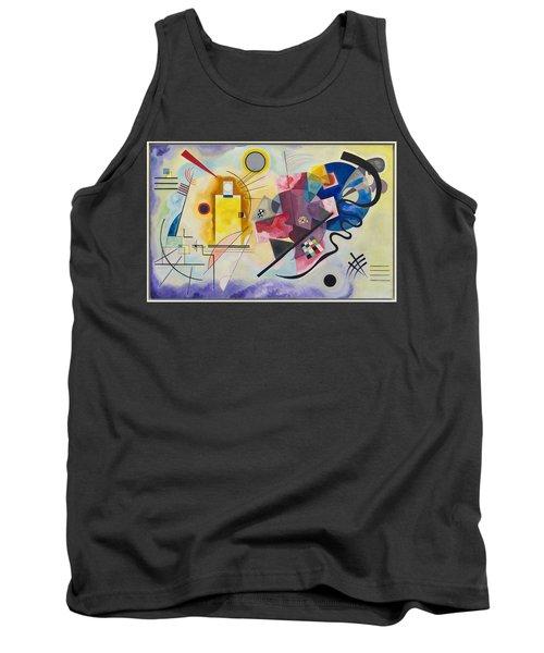 Wassily Kandinsky,jaune Rouge Bleu Tank Top