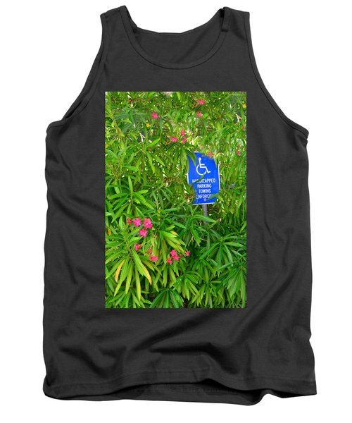 Watch Where You Park Tank Top