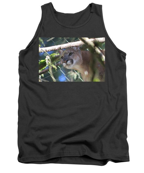 Tank Top featuring the photograph Watchful Eyes by Laddie Halupa