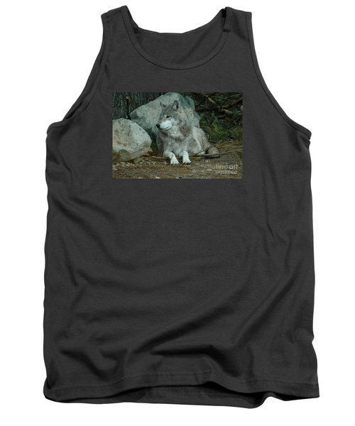 Watchful Wolf Tank Top