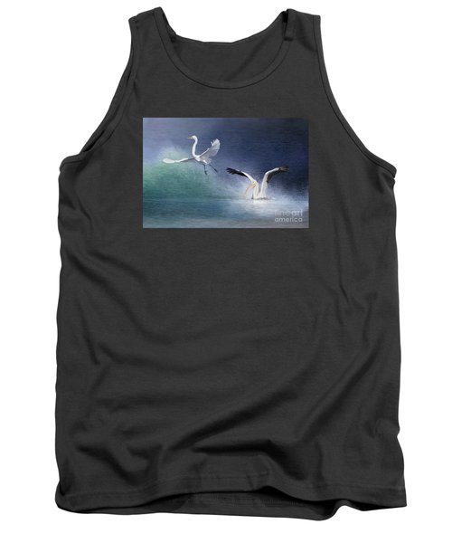 Water Ballet Tank Top by Bonnie Barry