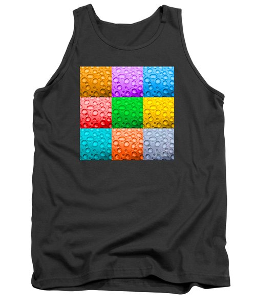 Tank Top featuring the photograph Water Color by DJ Florek