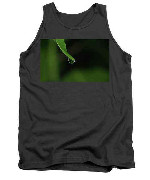 Water Drop Tank Top by Richard Rizzo