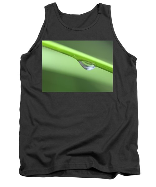 Water Droplet II Tank Top by Richard Rizzo