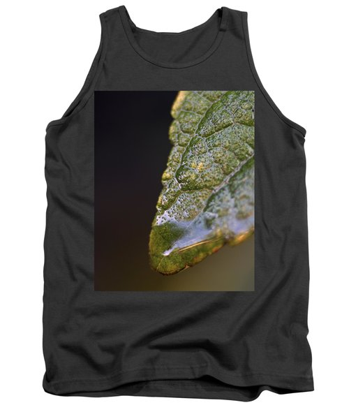 Water Droplet V Tank Top by Richard Rizzo