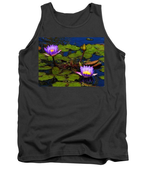 Water Lilies Iv Tank Top